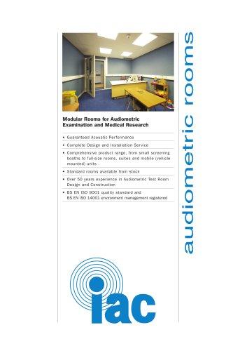 Audiometric Rooms