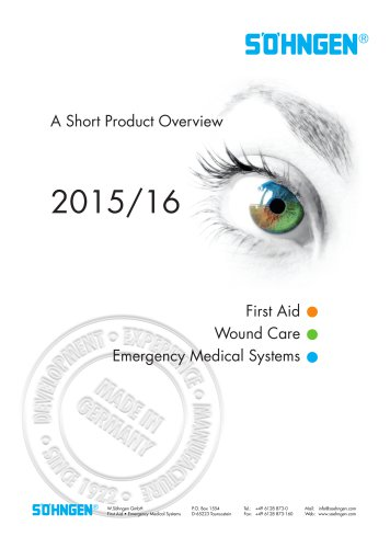 International Catalogue 2015/2016