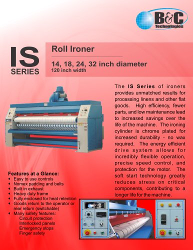 IS Series Commercial Ironer