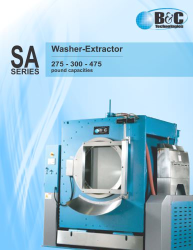 SA Series Industrial Washer