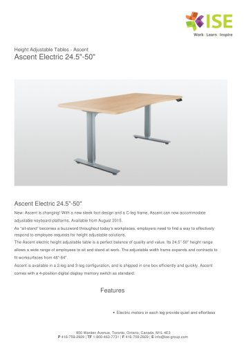 """Ascent Electric 24.5""""-50"""""""