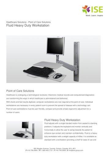 Fluid Heavy Duty Workstation