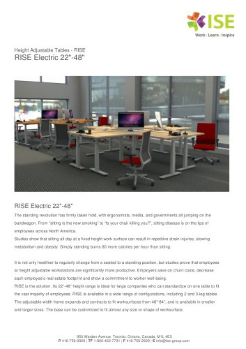"""RISE Electric 22""""-48"""""""