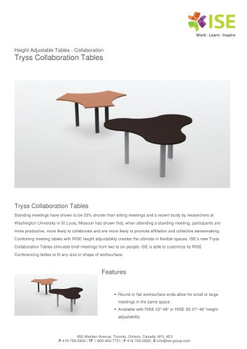 Tryss Collaboration Tables